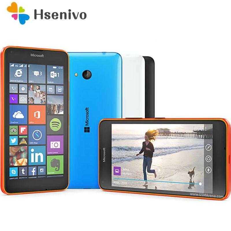 100% Original Microsoft Lumia 640 8MP Camera Quad-core 8GB ROM 1GB RAM Mobile Phone LTE FDD 4G 5.0