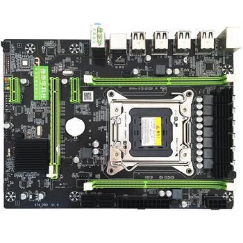 X79PRO MB Computer Mainboard For Intel H61/P67 Socket LGA2011 CPU DDR3 Memory RJ45 LAN Port SATA2.0
