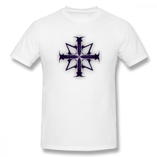 Assassin Creed Cross print casual mens o-neck tee shirt homme and fashion 100% Cotton Hip Hop Streetwaear T-Shirt