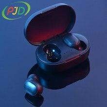 PJD Mini TWS słuchawki Bluetooth słuchawki bezprzewodowe prawdziwe bezprzewodowe słuchawki douszne magnetyczne ładowanie z mikrofonem dla Xiaomi Redmi iPhone