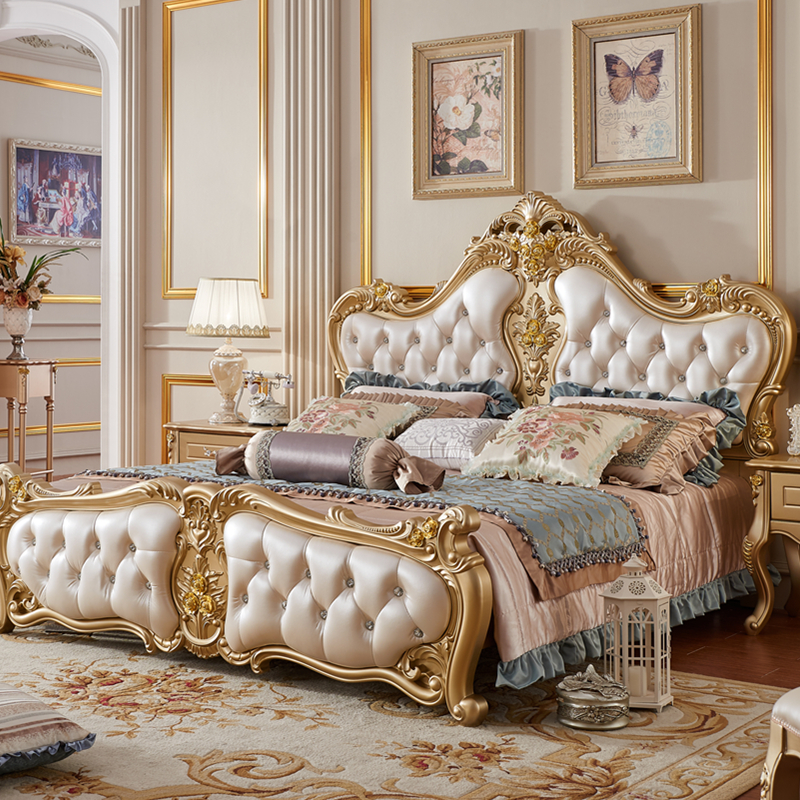 Bedroom Furniture Luxury King Size Bed