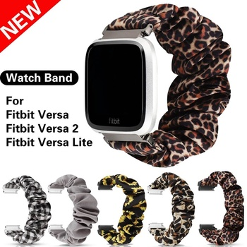 Fashion Elastic Watch Band For Fitbit Versa Scrunchie Strap For Fitbit Versa 2 Fitbit Versa Lite for fitbit versa 2 wristband band for fitbit versa versa lite strap wrist bracelet for fitbit lite verse 2 smart accessories