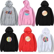 Clothing Hoodie Sweatshirt Harry-Styles Treat-People Black Streetwear Harajuku Womens