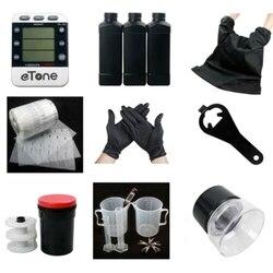eTone Darkroom set Developing Kit Film Processing 120 135 35mm 8x Magnifier Opener Timer