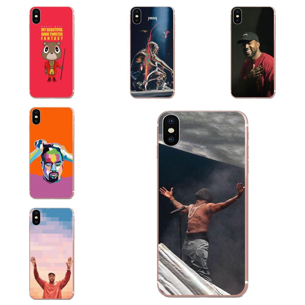 Power Kanye Omari West Fashion Soft <font><b>Case</b></font> Protective For Apple <font><b>iPhone</b></font> 4 4S 5 5C <font><b>5S</b></font> SE SE2 6 6S 7 8 11 Plus Pro X XS Max XR image