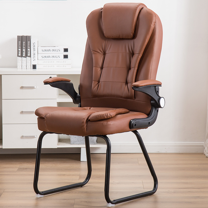 Computer Chair Household Conference Chair Office Chair Bow Staff Study Mahjong Seat Modern Simple Backrest Chai