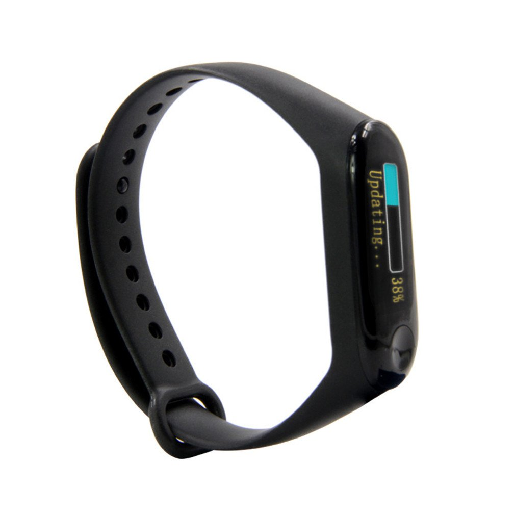 T-Wristband DIY Programmable Smart Bracelet <font><b>ESP32</b></font>-<font><b>PICO</b></font>-<font><b>D4</b></font> Main Chip 0.96 Inch IPS Screen Silicone Bracelet Strap image