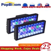 PopBloom Lights For Fishing Led Aquarium Lighting Sunset Lampe 120cm Light Fish Turing30