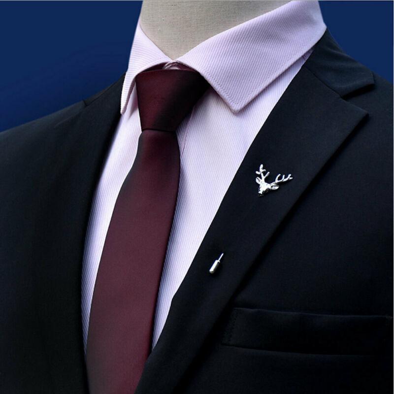 Solid Color Men's Lazy Zipper Necktie Business Wedding Party Slim Zip Up Neck Ties Formal Business Ties Birthday Gift For Men