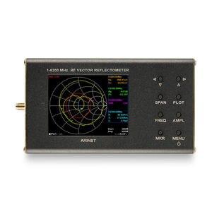 Image 2 - Nuovo portatile VNA SWR di vettore analizzatore di rete reflectometer Arinst VR 1 6200 MHz