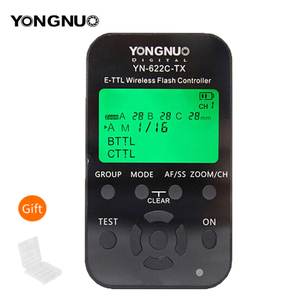Image 1 - 永諾 YN 622C TX YN622C TX 液晶ワイヤレス e ttl フラッシュコントローラ 1/8000 8000s フラッシュトリガー用一眼レフカメラ
