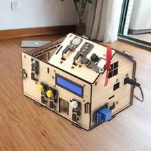 Keyestudio kit casa inteligente com placa plus para arduino diy haste