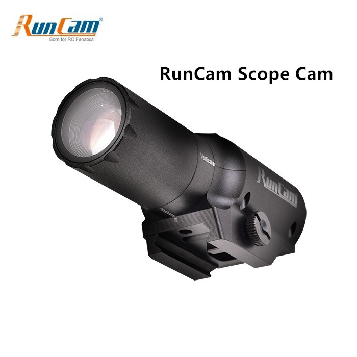 2019 New RunCam Scope Cam 1080P 60fps MOV <font><b>DC</b></font> 5V -15V 4MP HD Camera Micro <font><b>USB</b></font> MAX Support 64G SD for RC Quadcopter RC Gun Game image