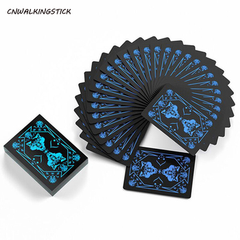 2020 New Flower Cut Playing Cards Plastic Waterproof Flying Cards PVC Matte Playing Cards Multifunction Board Game Magic Card недорого