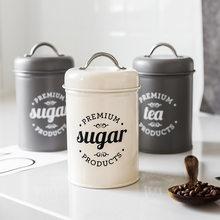 Boîte de rangement pour thé, sucre, café, récipients pour aliments de cuisine, bocaux, bouteilles de stockage de bonbons, bocaux, bol, boîte 1 pièces