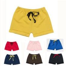 Новые детские летние шорты, хлопковые шорты для мальчиков и девочек, спортивные шорты, пляжные шорты, спортивные штаны, одежда для малышей