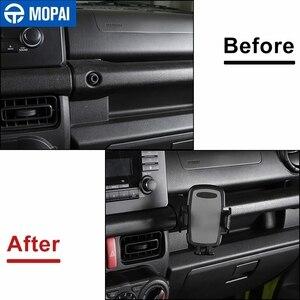 Image 3 - MOPAI GPS Stehen für Suzuki Jimny JB74 2019 + Auto Handy Halter Unterstützung für Suzuki Jimny 2019 + Auto zubehör