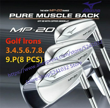 2020New men Golf club 8PCS golf iron  MP20 irons Set Golf Forged Irons Golf Clubs 3-9P  R/S Flex Steel Shaft With Head Cover