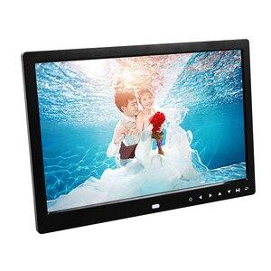 Image 2 - 13 inch HD Digital Photo Frame 1280x800 Music Movie Player Remote Control MP3 MP4 Calendar Alarm Clock Electronic Album