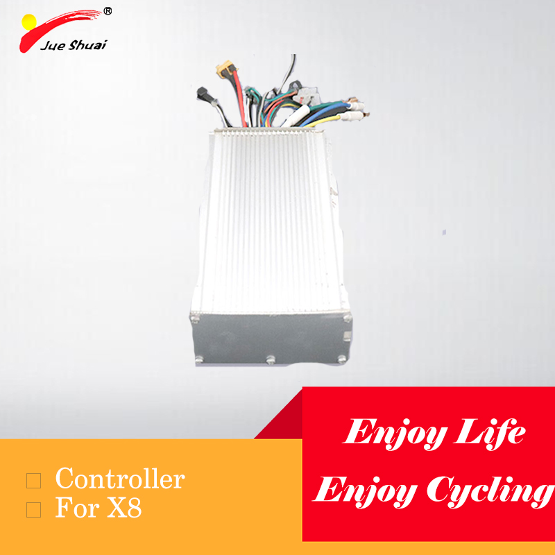 Jueshuai <font><b>3200W</b></font> 60V Electric <font><b>Scooter</b></font> Controller Good Heat Resistance Long Service Life Brushless Lithium Battery E <font><b>Scooter</b></font> Parts image