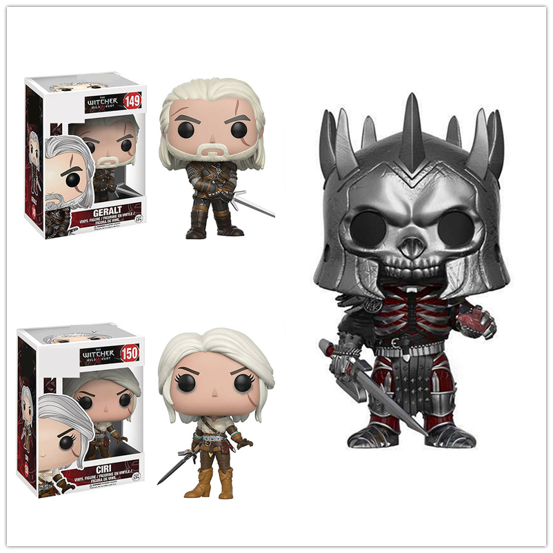 Game Character Witcher 3 Wild Hunt CIRI GERALT Eredin Vinyl Action Figures Collection Model Toys For Children Birthday Gifts