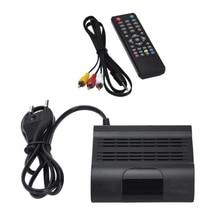 цена на DVB-T2 HD 1080P Digital TV Receiver Set Top Box Smart WiFi HD Media Player Set-top Box EU Plug +Remote Control