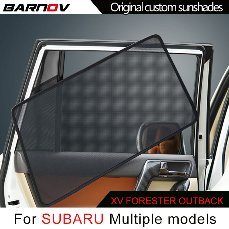 BARNOV Auto Tenda Speciale Tenda di Finestra Tende Da Sole Mesh Ombra Cieco Originale Su Misura Per SUBARU XV FORESTER OUTBACK