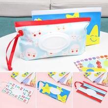 EVA Baby – pochette pour lingettes humides, étui à rabat, sangle à pression, réutilisable, rechargeable, sac pour lingettes humides, boîte à mouchoirs Portable pour l'extérieur