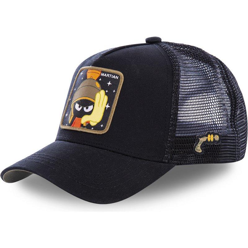 capslab-marvin-the-martian-mar1-looney-tunes-black-trucker-hat