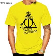 Hip-Hop T-Shirt Always Alan Rickman T-Shirt - Death Tomb Tribute 1946- Professor Snape City Kpop Tee Shirt