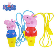 Peppa Pig George Pepa Whistle Toys  Cartoon Character Children Musical Instruments Educational Kids Holiday Birthday Gifts2