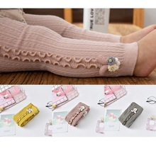 Leggings Girls Infant Spring Winter Skinny-Pants Stocking Wave-Bar Elastic Soft Baby