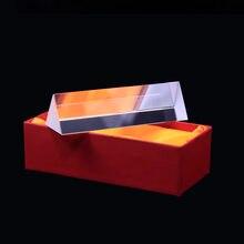 Комбинация призм с подарочной коробкой оптическая призма радужная