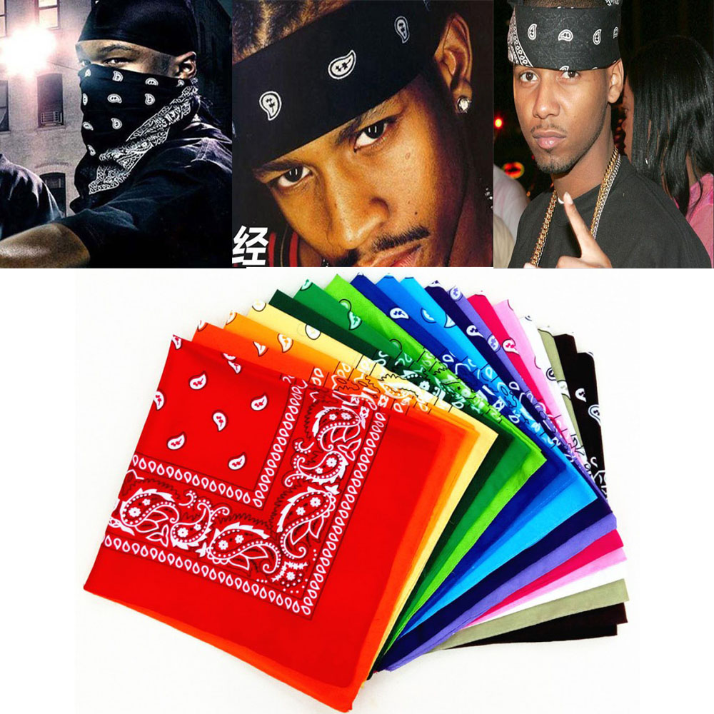 2020 Brand Unisex Hijab Scarf Men Hip Hop Bandana Women Black Scarf Men Black Hair Head Scarf Paisley Sjaal Muffler