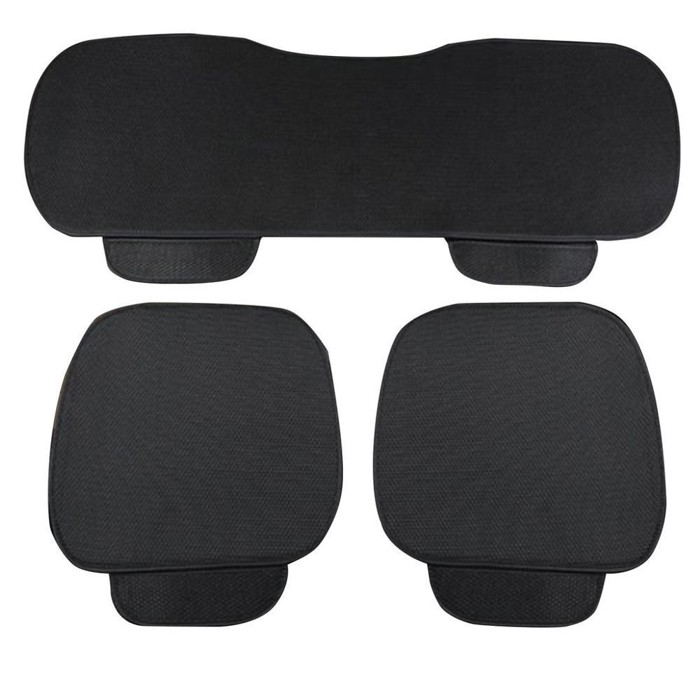 Car-Seat-Cushion Universal Three Backrest Without Ice-Silk Single-Piece