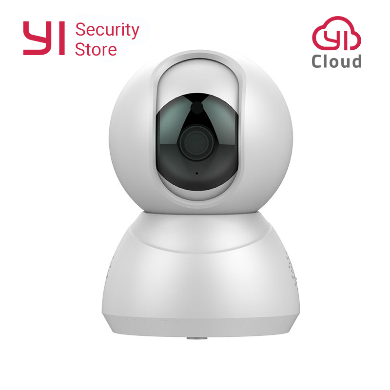 Speed Dome Camera 1080P Wireless Indoor Smart Security Home Cam Motion Detection Night Vision Two-Way Audio YI LoT APP