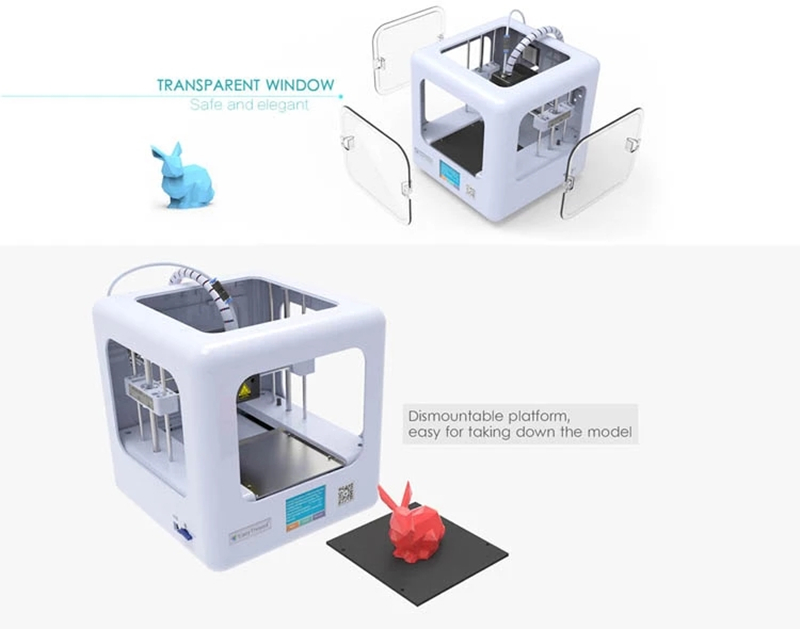 DORA 3D Mini Impressora com Tela Kit