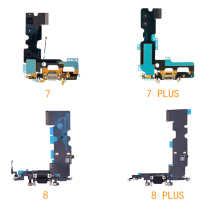USB Mic Port Charger Dock Connector Charging Flex Cable For iPhone 7 7 Plus 8 8 Plus  Dock Charging Flex Cable Replacement Parts jintai micro usb connector charger charging port dock flex cable for lenovo k5 note