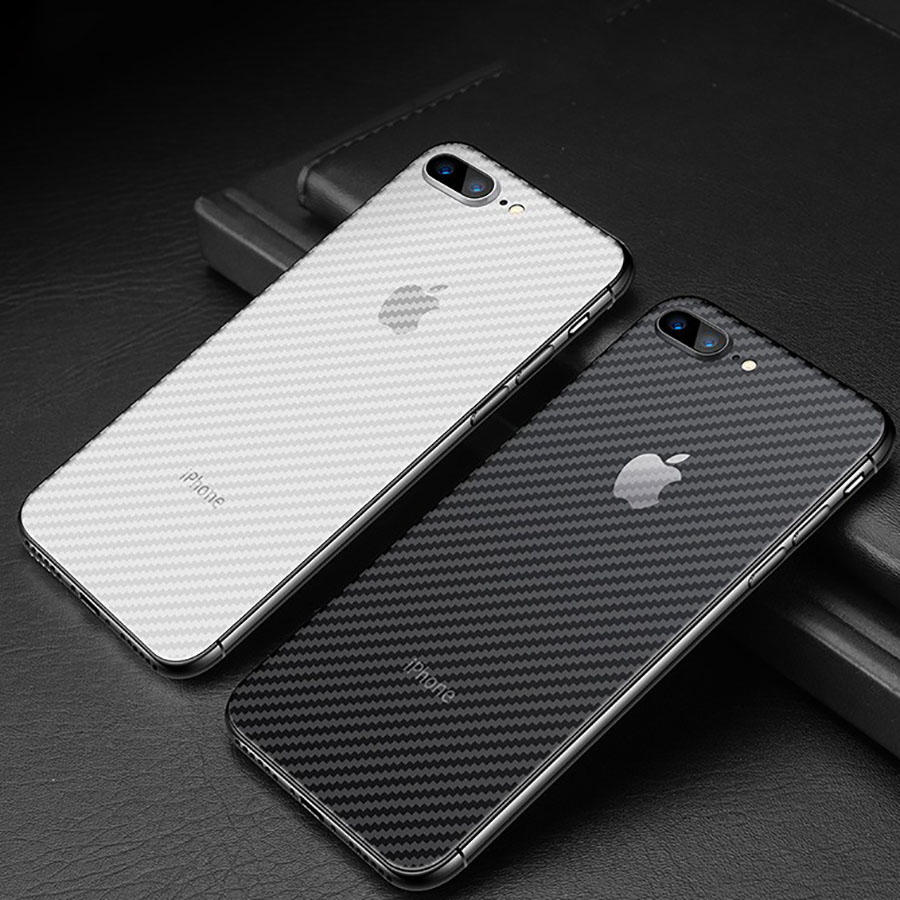 5Pcs 3D Guard Carbon Fiber Soft Matte Back Protective Film For IPhone 11 Pro Max Cover Screen Protector 7 8 Plus X XS Max XR