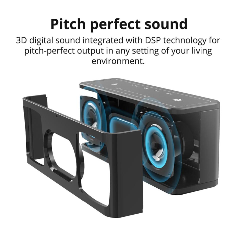 Tronsmart Mega TWS Bluetooth 5.0 Speaker 40W Portable Speaker Colums Touch Control Wireless Soundbar Voice Assistant NFC MicroSD (3)