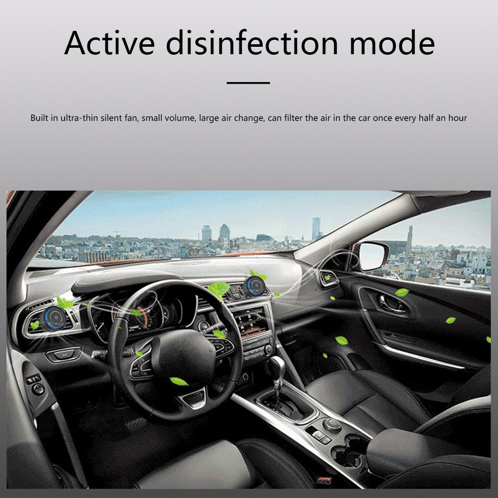 Portable Air Purifier Removal Freshener USB Formaldehyde Odor Car Air Cleaner for Unique Parts Portable Car Ornaments