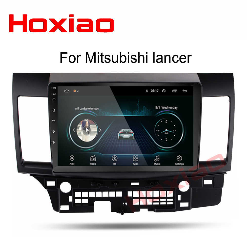 Android Radio del coche para Mitsubishi lancer 10 pulgadas 1024*600 Quad Core wifi Bluetooth video audio Multimedia 2 din reproductor de dvd del coche