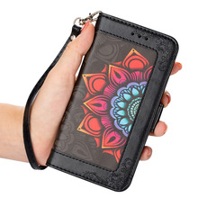 LCHULLE Luxury Leather Wallet Phone Case for IPhone 11 Pro Max 12 Mini X XR XS 7 8 Plus 6 6S Se2020 Card Holder Flip Cover Etui