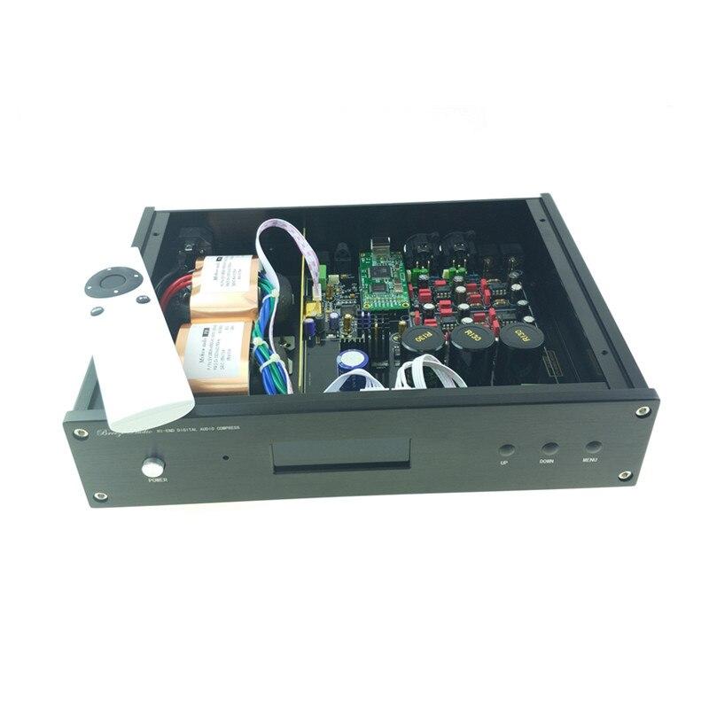 Image 4 - 2019 ES9038 ES9038PRO USB DAC DSD decodificador digital a convertidor de Audio analógico de alta fidelidad DAC de Audio Amanero o XMOS XU208 para ampAmplificador   -