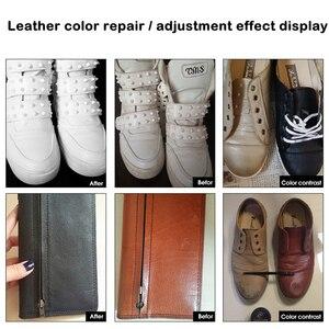 Image 5 - Vinyl Auto Seat Auto Leer Reparatie Kit Cleaner Holes Scratch Scheuren Rips Restauratie Tool Kleur Veranderende Crème Set Voor Kleding