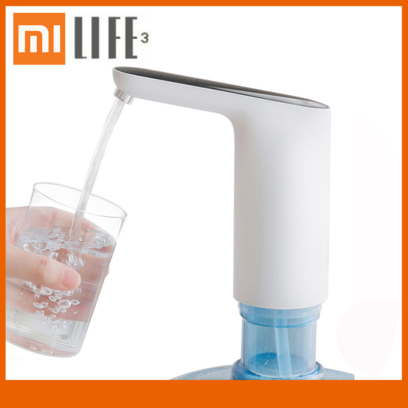 Xiaomi Mijia 3LIFE Automatic Water Pump Mini Touch&Botton Switch Wireless Rechargeable 60min Auto Stop Electric Dispenser