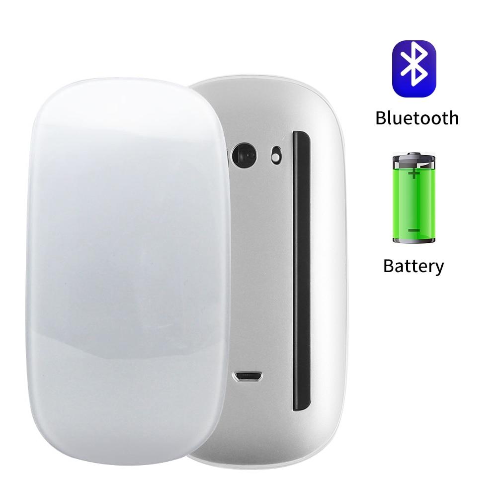 Bluetooth 5,0 Беспроводная Mause перезаряжаемая Бесшумная многодуговая сенсорная мышь ультра-тонкая Волшебная мышь для ноутбука Ipad Mac PC Macbook Air