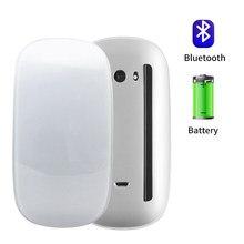Bluetooth 5.0 sem fio mause recarregável silencioso multi arco toque ratos ultra-fino mouse mágico para o portátil ipad mac pc macbook ar