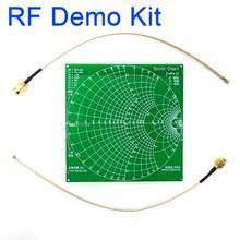 RF Demo kiti NanoVNA RF test cihazı kurulu filtre zayıflatıcı NanoVNA vektör ağ analizörü anten/spektrum
