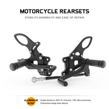 цена на Motorcycle Footrest Pedal Foot Pegs CNC Aluminum For Honda CBR929RR CBR954RR 2000 2001 2002 2003